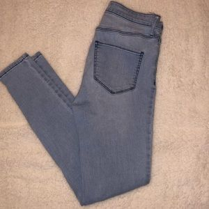 Abercrombie & Fitch Ankle Zip Jeans Size 2